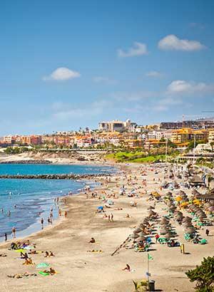 Familie-eilanden Europa: Tenerife