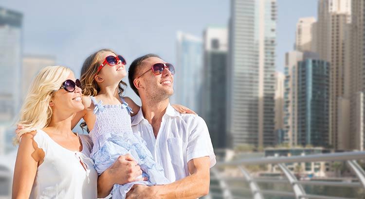 Familiebestemming Dubai