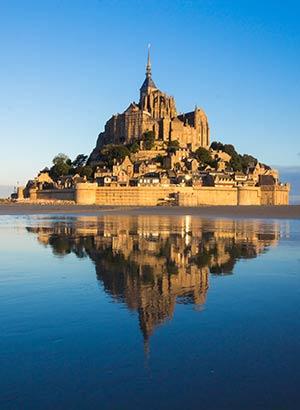 Favoriete vakantiebestemmingen: Mont Saint Michel