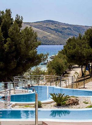 Populaire familiehotels, Appartementen Vranjica Belvedere