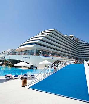 Populaire hotels Turkije, Lara Beach