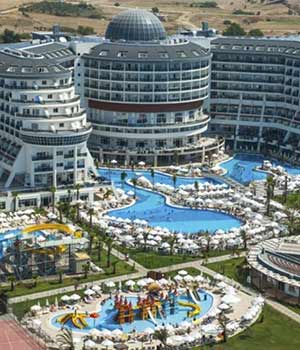 Populaire hotels Turkije, Side