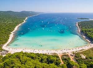Stranden in Kroatie