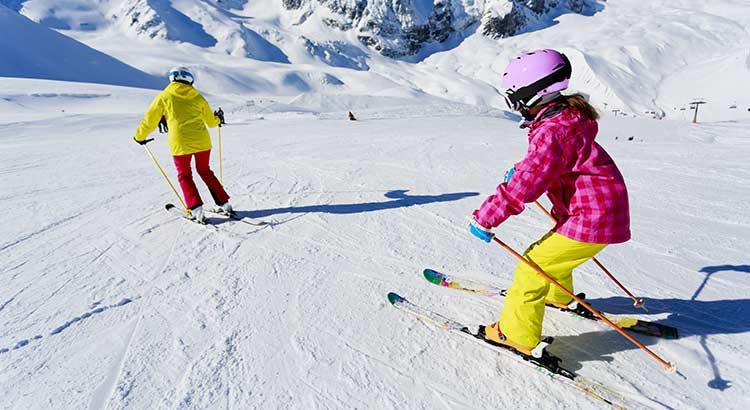 Voorjaarsvakantie, wintersport met kinderen