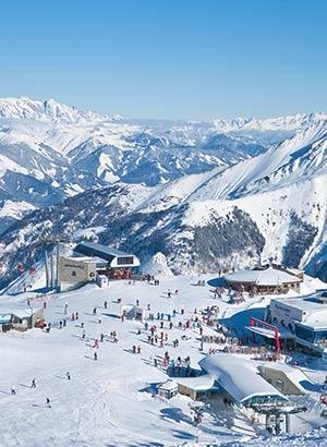 Wintersportgebieden voor beginners: Kaprun