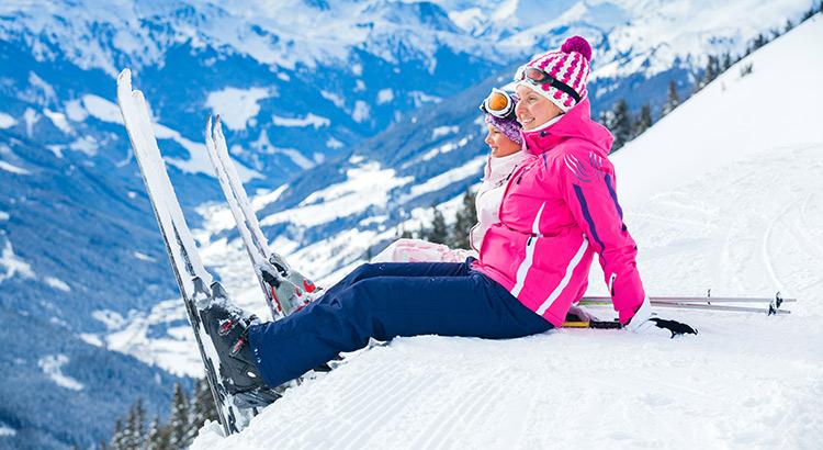 Wintersportgebieden voor beginners