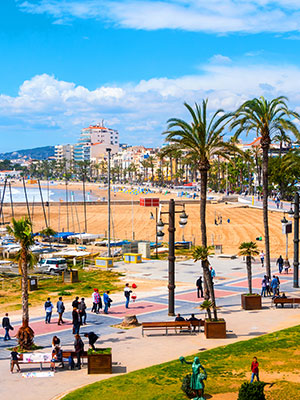 Autovakantie Spanje, Sitges