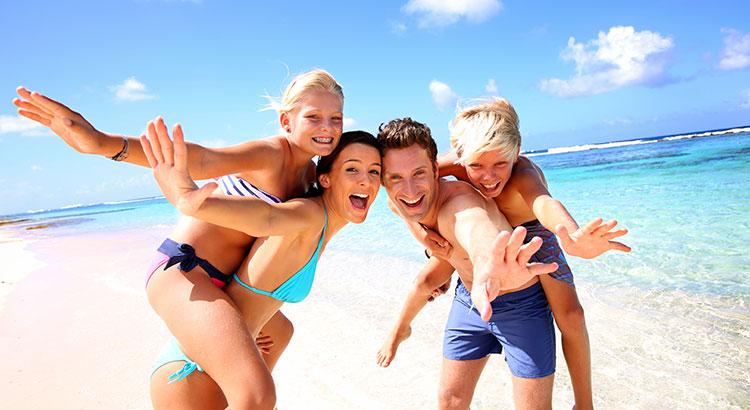 Populaire vakantiebestemmingen met kinderen