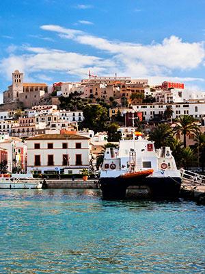 Mooiste steden op Spaanse eilanden, Ibiza-Stad
