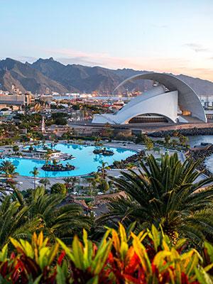 Mooiste steden op Spaanse eilanden, Santa Cruz de Tenerife