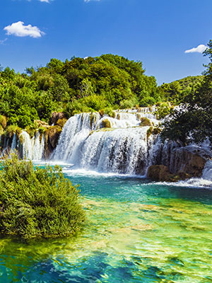 Rondje lansg Kroatische meren, Krka rivier