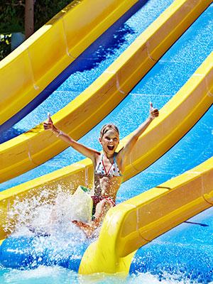 Zes redenen vakantie Chersonissos, waterpark