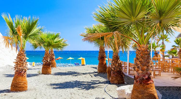 Badplaatsen Cyprus