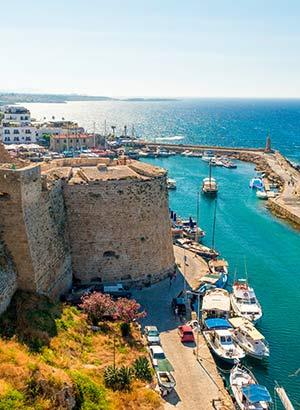Badplaatsen Cyprus: Kyrenia
