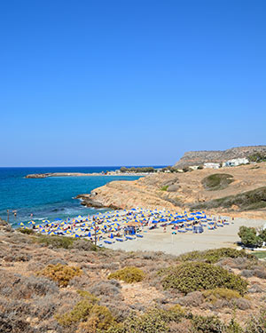 Badplaatsen Kreta: Sissi