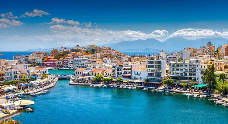 Badplaatsen Kreta