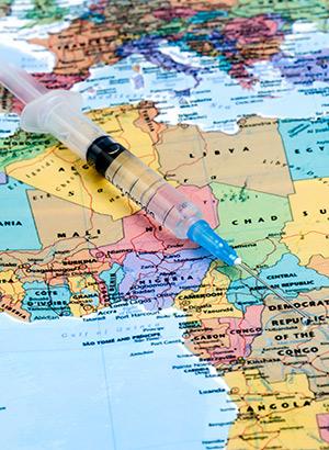 Goed voorbereid op vakantie; vaccinatie