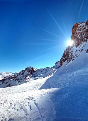 Goedkope wintersport Tignes, piste