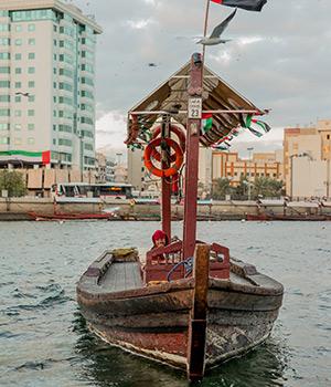 Historisch Dubai: Abra
