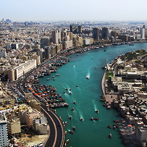 Historisch Dubai: Dubai Creek