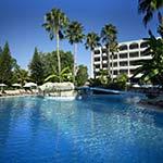 Badplaatsen Cyprus: Atlantica Oasis Hotel, Limassol