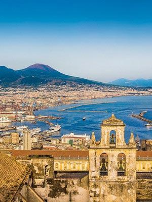 Italiaanse steden Napels