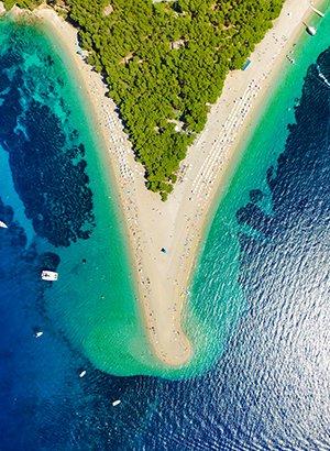 Populair Kroatië, stranden