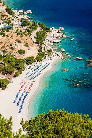 Vakantie Karpathos: Apella Beach