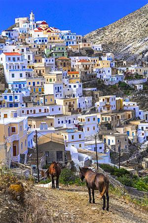 Vakantie Karpathos, witte huisjes