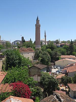Antalya, Turkije, historisch centrum