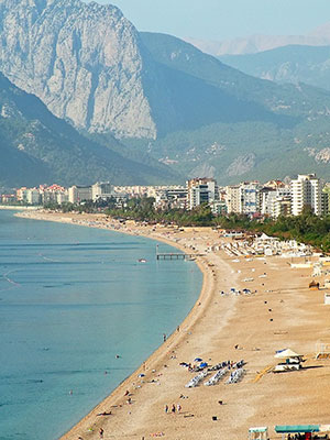 Antalya, Turkije, strand