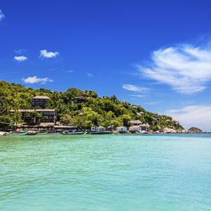 Vakantie Koh Tao, strand