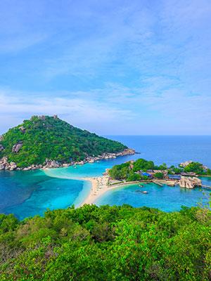 Vakantie Koh Tao, Koh Nang Yuan