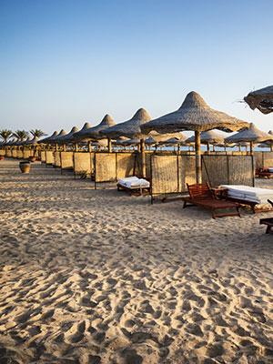 Vakantie Marsa Alam, strand
