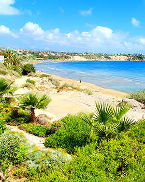 Mooiste stranden Cyprus, Coral Bay Beach