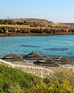 Mooiste stranden Cyprus, Nissi Beach