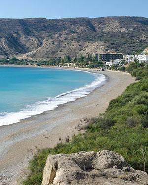 Mooiste stranden Cyprus, Pissouri Beach