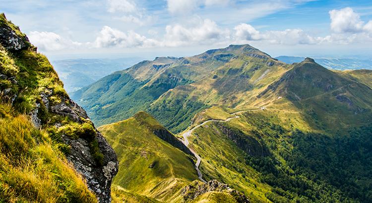 Vulkanen van de Auvergne