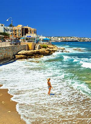 Badplaatsen Kreta: Chersonissos