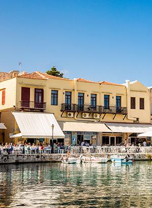 Badplaatsen Kreta: Rethymnon