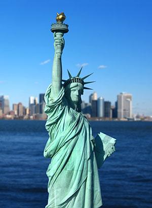 'Gratis doen in New York: vrijheidsbeeld