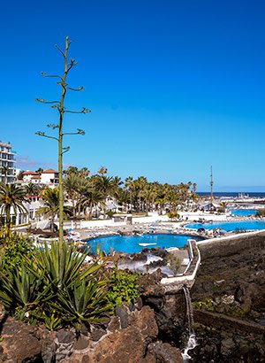 Leukste waterparken Spanje: Lago Martianez, Tenerife