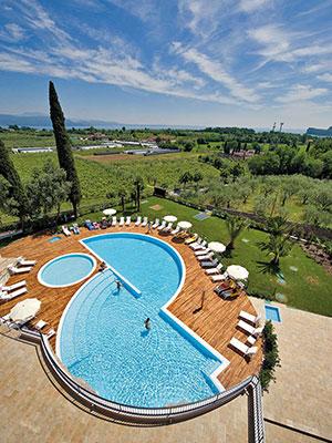 Luxe hotels Italië: Gardameer