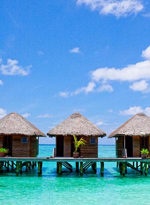 Tropische vakantiebestemmingen: Malediven