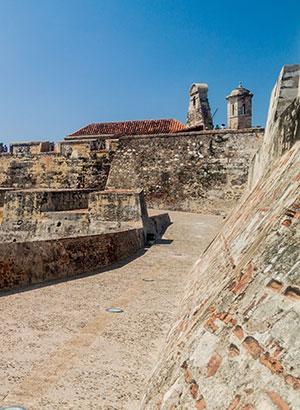 Cultureel Cartagena: fort