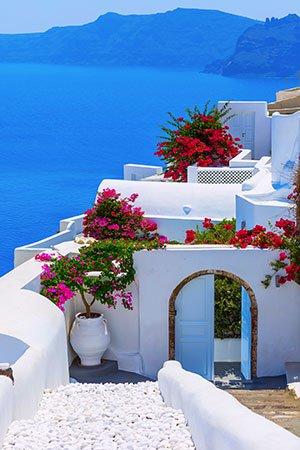 Europese eilanden: Santorini