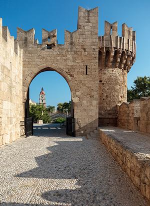 geschiedenis Rhodos-Stad: toren
