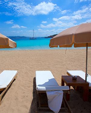 Mooiste stranden Ibiza; Cala Bassa