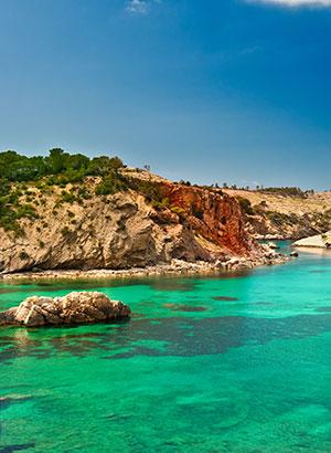 Mooiste stranden Ibiza: Xarraca
