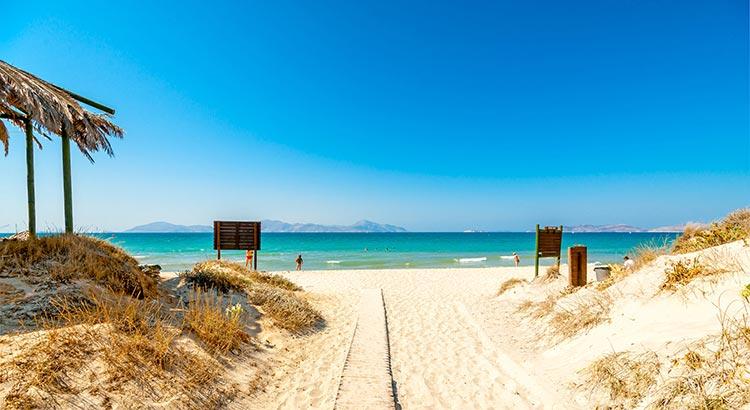Mooiste stranden Kos